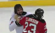 Frozen Fisticuffs Fight Of The Night – Clarkson Vs. Stortini – 11/12/10