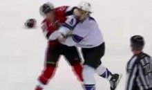 Frozen Fisticuffs Fight Of The Night – Westgarth Vs. Neil – 11/22/10