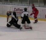 17-Year-Old Swede Scores Unreal Goal From Behind The Net (Video)