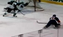 AHL Goalie Alex Stalock Makes Save Of The Year (Video)
