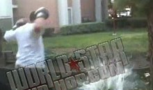 Backyard Boxing Results In Pond Knockout…Allow Us To Explain (Video)