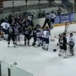 Bench-Clearing Brawl Erupts During U.K. Hockey Match