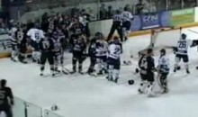 Bench-Clearing Brawl Erupts During U.K. Hockey Match (Video)