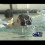 Blind Swimmer Inspires His Teammates