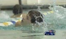 Blind Swimmer Inspires His Teammates (Video)
