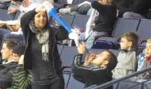 Couple Breaks Out The Vuvuzela Beer Bong During AHL Game (Video)