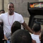 Dwight Howard Takes His NBA Jam Game To The Streets Of NYC