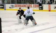 ECHL Brawl Highlighted By Goalie Fight (Video)