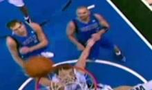 Hedo Turkoglu Gets Rejected By The Rim (Video)