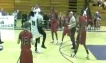 High School Basketball Player Loses His Cool, Attacks Referee (Video)