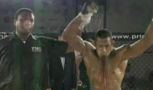 MMA Fighter Wins Fight, Pukes Uncontrollably (Video)
