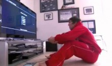 Alex Ovechkin Gets A Rough Fisting, Sits Incredibly Close To The TV (Video)