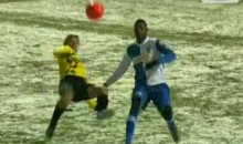 Snow Didn't Stop Sonck From Scoring This Incredible Goal (Video)
