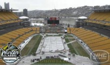 Three-Minute Time Lapse Of Heinz Field Winter Classic Transformation (Video)