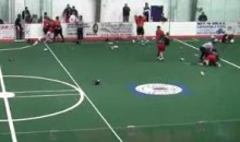 Toronto Rock And Buffalo Bandits Engage In Bench-Clearing Lacrosse Brawl (Video)