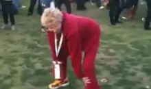 USC Grandma Shakes What Her Great-Great-Grandma Gave Her During Tailgate (Video)