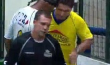 Viola Headbutts Ref During Indoor Soccer Match (Video)