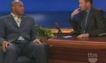 Barkley Tells Conan He'd Kick Obama's Ass…In Basketball (Video)