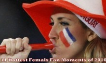 11 Hottest Female Fan Moments of 2010