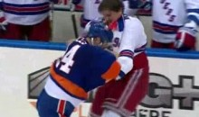 Frozen Fisticuffs Fight Of The Night – Boogaard vs. Gillies – 12/2/10