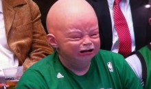 Picture Of The Day: Boston Celtics Cry-Baby