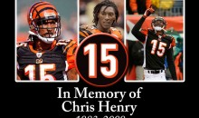 This Day In Sports History (December 17th) — Chris Henry