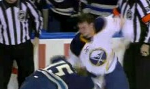 Frozen Fisticuffs Fight Of The Night – Kaleta's Flurry Of Lefts – 12/3/10