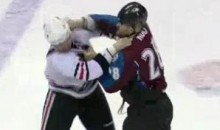 Frozen Fisticuffs Fight Of The Night – John Scott vs. David Koci – 12/13/10
