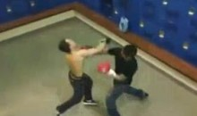 Proof That Amateur Locker Room Boxing Is Amazing, Or Terrible, Depending On Who You Are (Video)