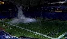 Metrodome Roof Collapses Prior To Vikings-Giants Game (Video)