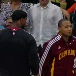 mo williams gives lebron the cold shoulder
