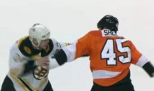 Frozen Fisticuffs Fight Of The Night – Thornton vs. Shelley – 12/1/10