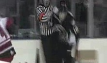 AHL's Jesse Boulerice Suspended 10 Games For Hitting Ref (Video)