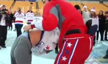 Alex Ovechkin's Atomic Wedgie (Video)
