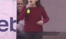 Crowd Saves Young Anthem Singer After Microphone Malfunction (Video)