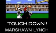 Marshawn Lynch's Tecmo Bowl Run (Video)