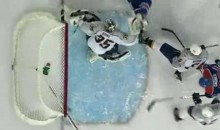 Pekka Rinne's Stick Makes The Save Of The Year (Video)