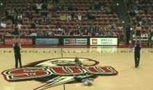 Southern Utah Cheerleader Suffers Nasty Faceplant (Video)