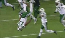 Welker Receives Helmet-Cracking Hit, Edwards Flips Out As Jets Beat Patriots (Videos)
