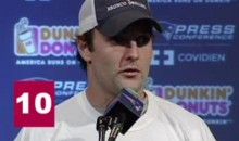 Wes Welker Makes 10 Foot References In One Press Conference…Take That Rex Ryan! (Video)