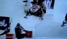 X-Games Official Gets Hit By A Snowmobile (Video)