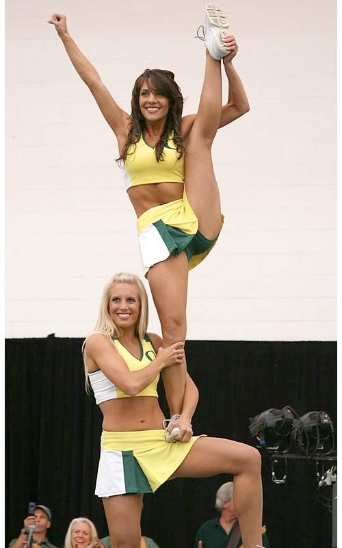 Busty cheerleader gallery