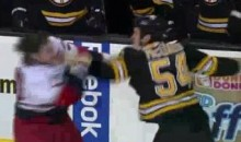 Frozen Fisticuffs Fight Of The Night — McQuaid vs. Bodie — 1/17/11