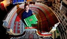 One Million Legos Used To Create This Ohio Stadium Replica