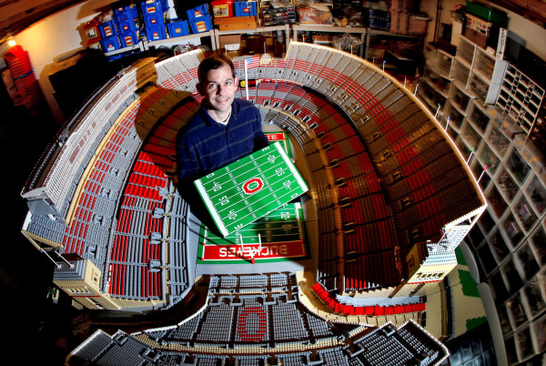 Football Stadium: Football Stadium Legos