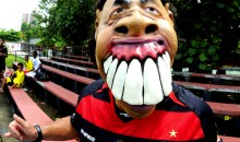 Picture Of The Day: These Ronaldinho Masks Are Creepy