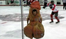 "Picture Of The Day: Is ""Scrotie The Nads"" The Best Mascot Ever?"