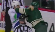 Frozen Fisticuffs Fight Of The Night — Staubitz vs. Volpatti — 1/16/11