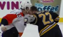 Frozen Fisticuffs Fight Of The Night – Shelley vs. Thornton – 1/13/11
