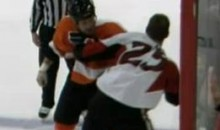 Frozen Fisticuffs Fight Of The Night – Sens And Flyers Give Us Three Simultaneous Fights – 1/20/11
